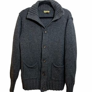 Sonoma Gray Wool and Alpaca Cardigan